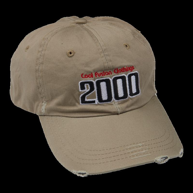 CAP : TEAM 2000 - Beige - Strapback