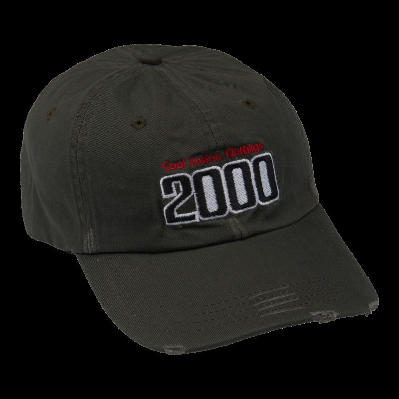 CAP : TEAM 2000 - Mørkegrøn - Strapback