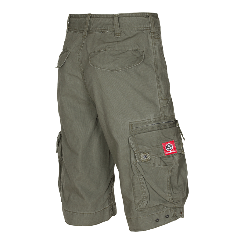 MOLECULE CARGO SHORTS - ORIGINALS 45020 - OLIVE GREEN C4