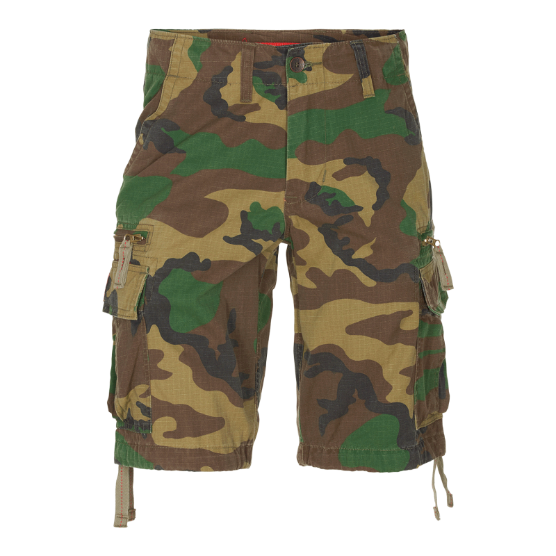 MOLECULE CARGO SHORTS - DUAL FEATHERWEIGHTS 55001 - WOODLAND C5