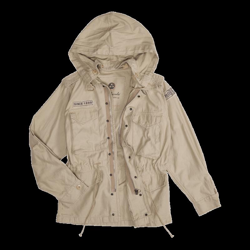 53014 - BEIGE : Molecule Airstrike jacket