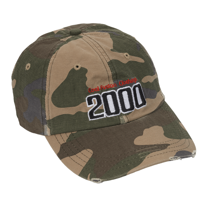 CAP : TEAM 2000 - Camo - Fitted