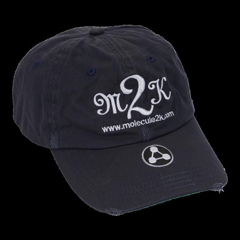 CAP : AMPED M2K - Navy Blå - Strapback