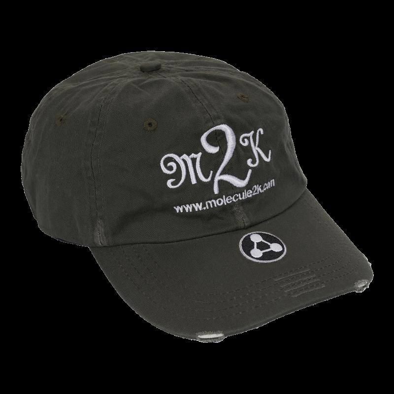 CAP : AMPED M2K - Mørkegrøn - Fitted