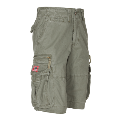 MOLECULE CARGO SHORTS - BIG SIZE CRUISERS - 52010 - OLIVE GREEN C4