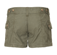 CARGO SHORTS MOLECULE - WAHINIS OLIVE GREEN - 45046