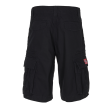 MOLECULE CARGO SHORTS - BIG SIZE CRUISERS - 52010 - SORT C1