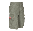 MOLECULE CARGO SHORTS - CRUISERS 50007 - OLIVE GREEN C4