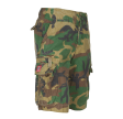 MOLECULE CARGO SHORTS - BIG SIZE CRUISERS - 52010 - WOODLAND C5