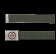 MOLECULE BÆLTE - STEEL BELT B02 - OLIVE GREEN C4
