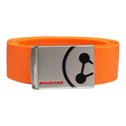 B03 - RIDER BELT - ORANGE : Molecule bælte